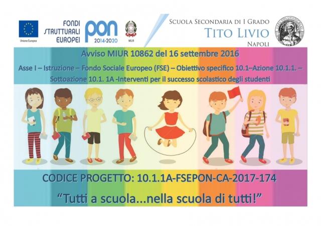 LOGO PON FSE INCLUSIONE 2017-2018 2